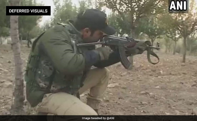 Terrorist Killed in Jammu And Kashmir's Handwara, Heavy Firing On
