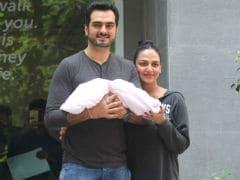 Esha Deol, Bharat Takhtani Bring Daughter Home. See First Pics
