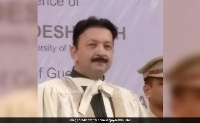 Mumbai University VC Sanjay Deshmukh sacked