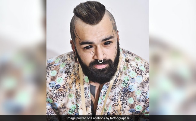 Delhi Man Who Tattooed His Eyeballs Says He Has No Regrets