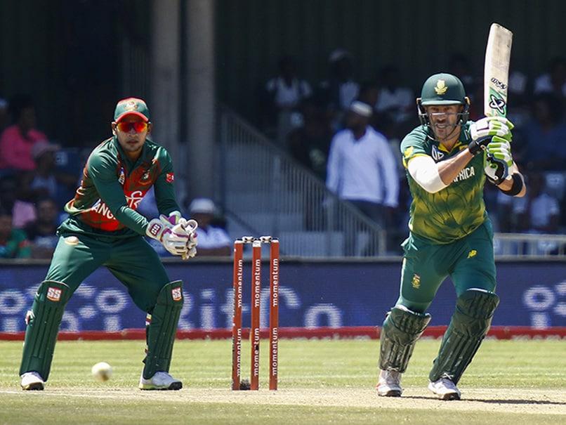 Third ODI: Faf Du Plessis Injury Spoils South Africa Win vs Bangladesh