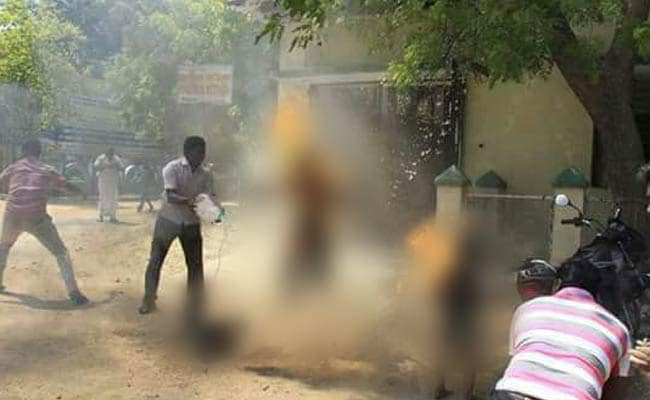 family self immolation tirunelveli ndtv