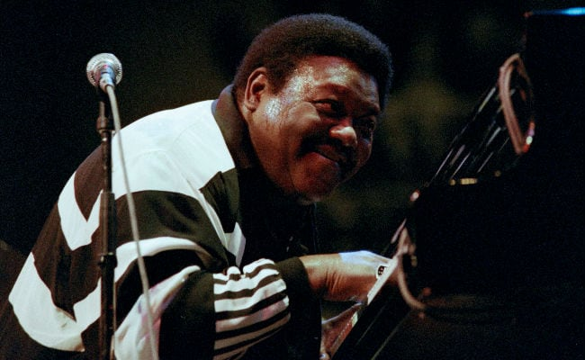 Fats Domino, Pianist Who Pioneered Rock, Dies At 89