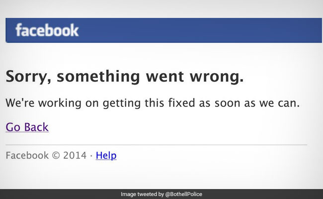 Don't Call 911 If Facebook Is Down, Tweets This Police
