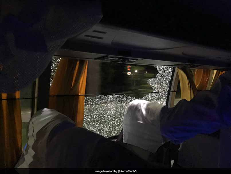2nd T20I: Government Reassures Aussies After Rock Thrown At Cricket Team Bus