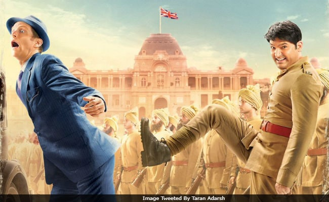 Kapil Sharma And A Firangi In Film's First Poster