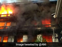 Massive Fire Erupts At Hosiery Unit In Punjab's Ludhiana, No Casualties