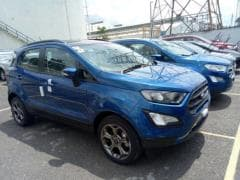 2017 Ford EcoSport Titanium S Variant Spotted Ahead Of Launch