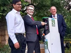 Fortum Partners With NBCC To Set Up Electric Vehicle Charging Station In India