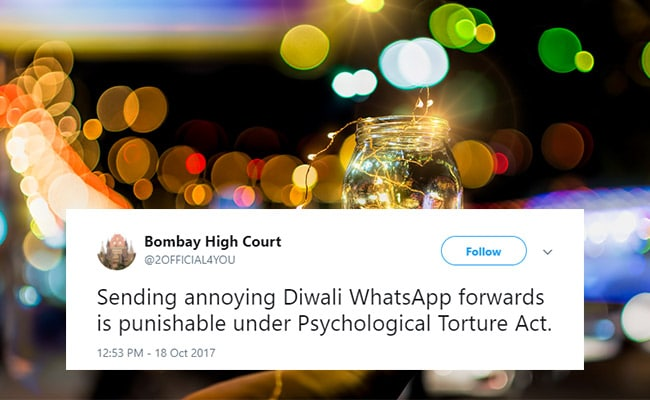 Diwali 2017: 10 Witty Tweets Celebrating The Festival Of Lights