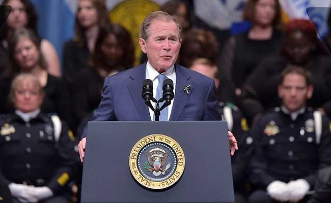 'Bigotry Seems Emboldened': George W Bush Slams Trump-Era Politics