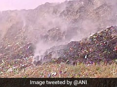 Green Court Slams Delhi, Civic Body Over Recent Fire At Ghazipur Landfill