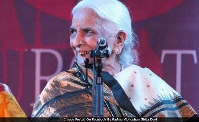 Thumri Queen Girija Devi's Remains Being Flown To Varanasi For Last Rites