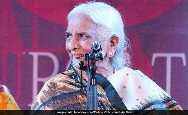 Thumri Queen Girija Devi Dies At 88 In Kolkata