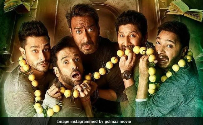 golmaal again review instagram