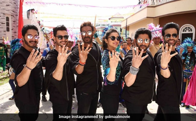 Golmaal Again Movie Review: Ajay Devgn, Tabu's Film Is A Wild, Wacky Ride