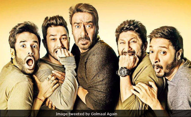 Golmaal Again Box Office Collection Day 6: Ajay Devgn's Film Is 'Super' With Over Rs 120 Crore