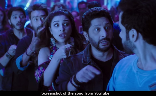 In Golmaal Again Song, Parineeti Chopra And Ajay Devgn Ask Tusshar Kapoor: Itna Sannata Kyun Hai?