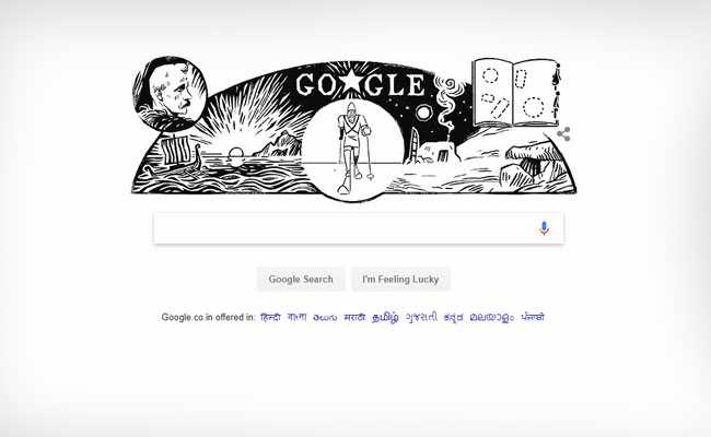 Google honors adventurer Fridtjof Nansen with a new Doodle