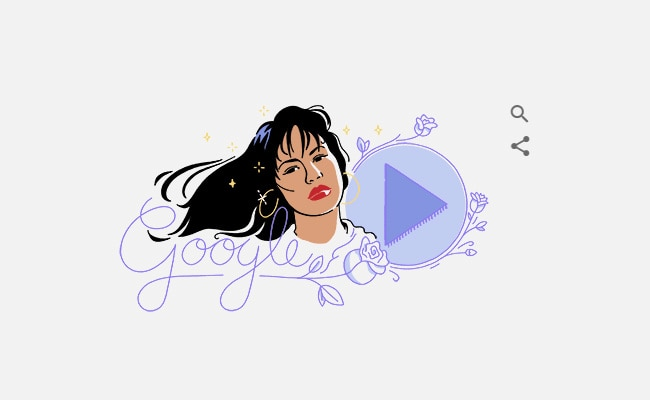 Google Celebrates Singer Selena Quintanilla's Music And Legacy With An Animated Doodle