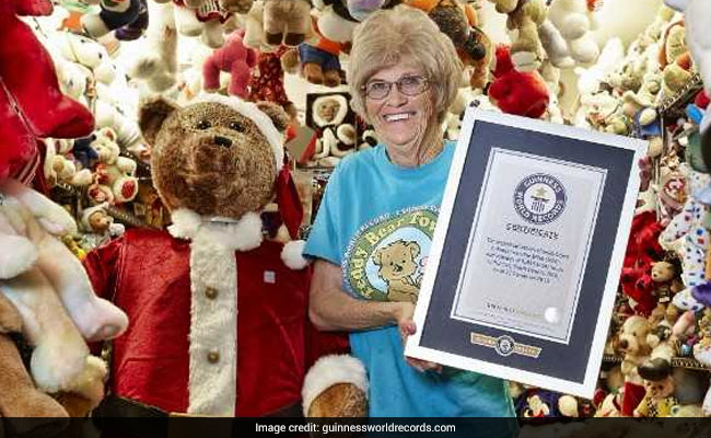 guinness record most teddy bears