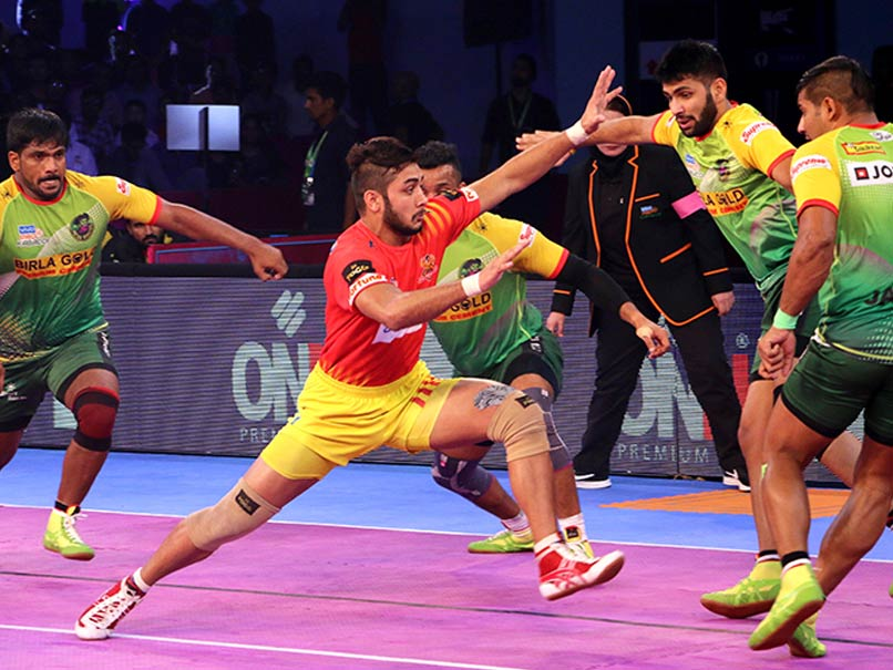 Pro Kabaddi League: Gujarat Fortunegiants Defeat Patna Pirates