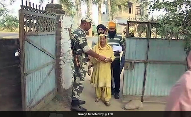 Voting Begins For Gurdaspur Lok Sabha Bypoll