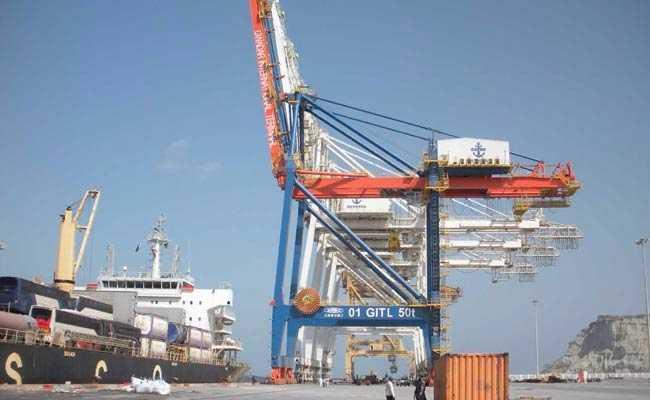 gwadar port pakistan afp
