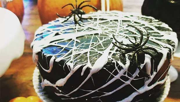 Magnificent Spider Cake Recipe By Anil Dahiya The Bristol Hotel Gurugram Funny Birthday Cards Online Barepcheapnameinfo