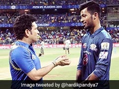 Sachin Tendulkar's Belief Gave Me A Lot Of Self-Confidence, Says Hardik Pandya