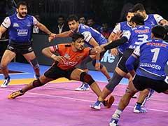 Pro Kabaddi League: Haryana Steelers Defeat U Mumba