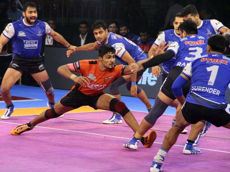 Pro Kabaddi League: Haryana Steelers Defeat U Mumba