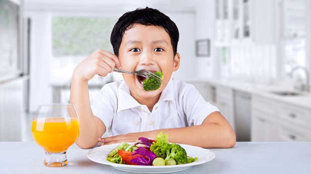 Healthier Food Choices Near Your Child