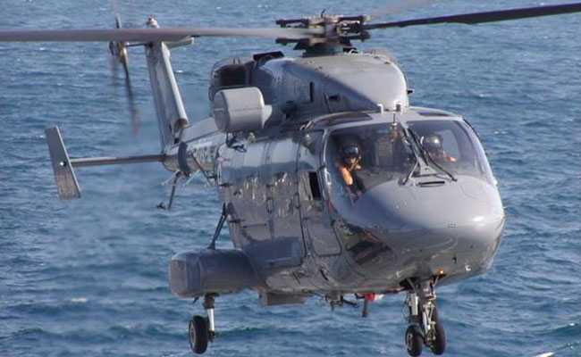 Navy Chopper Makes Precautionary Landing In Kerala