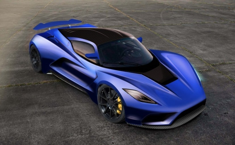 Hennessey Venom F5 Teased; Global Unveil In November - NDTV CarAndBike