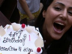 <i>Bigg Boss 11</i>: Hina Khan Celebrates Birthday With 'Strangers' In The House. Her Reaction