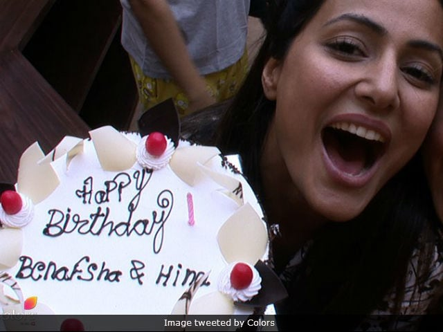Bigg Boss 11: Hina Khan Celebrates Birthday With 'Strangers' In The House. Her Reaction