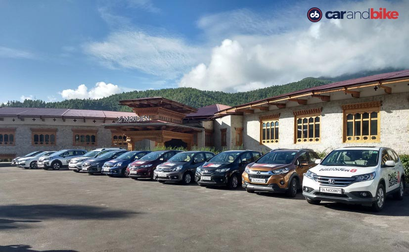 honda d2d a day in the valley city of paro