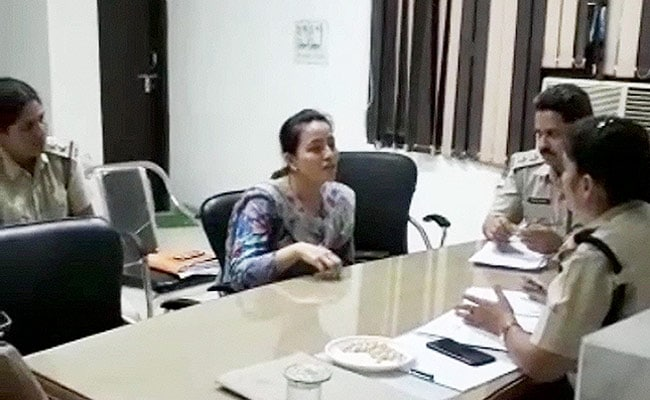After Arrest, Honeypreet Insan Questioned Till 3 AM At Police Station