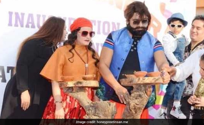 Honeypreet Insan arrested by Haryana Police