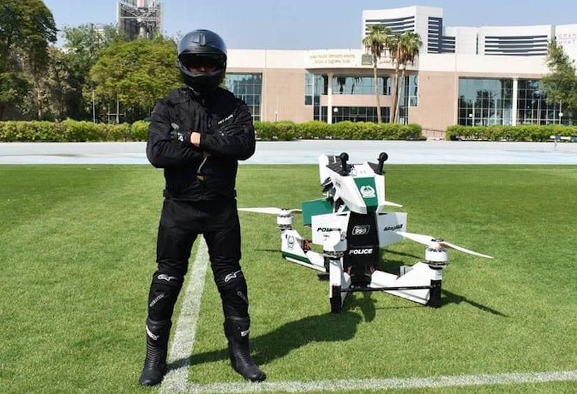 hoverbikes dubai police