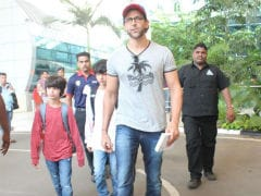 Vacation Done. Hrithik Roshan, Sussanne Khan And Sons Return To Mumbai