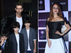 Hrithik Roshan, Ex-Wife Sussanne Khan And Sons Spotted Together. See Pics
