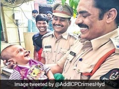 Hyderabad Cop's Pic With Kidnapped Baby He Saved Is Breaking The Internet