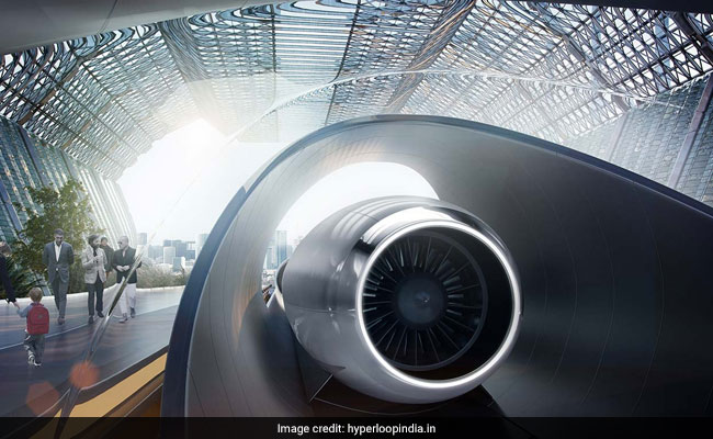 Andhra Pradesh Studying Feasibility Of Setting Up Hyperloop Facility