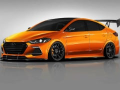 Tuned Hyundai Elantra And Santa Fe Showcased For SEMA Show