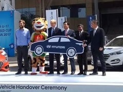 Hyundai India Join Hands With FIFA U17 World Cup Tournament As Official Partner