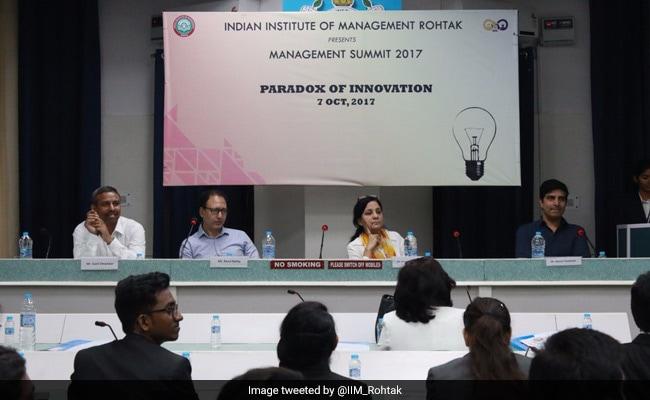 IIM Rohtak Organises Second Edition Of Management Summit