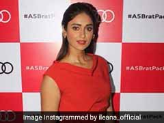 Try Ileana D'Cruz's Slick Hair & Red Lips Look For Yourself