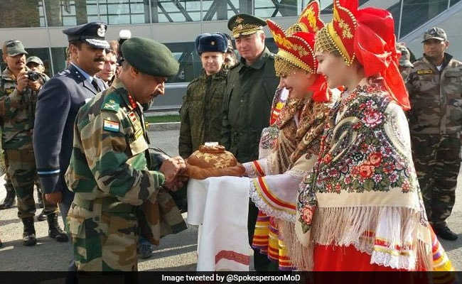 India, Russia Kick-Start Their First Joint Military War Games